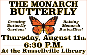 The Monarch Butterfly @ Russellville Public Library | Russellville | Ohio | United States