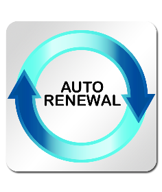 Automatic renewals